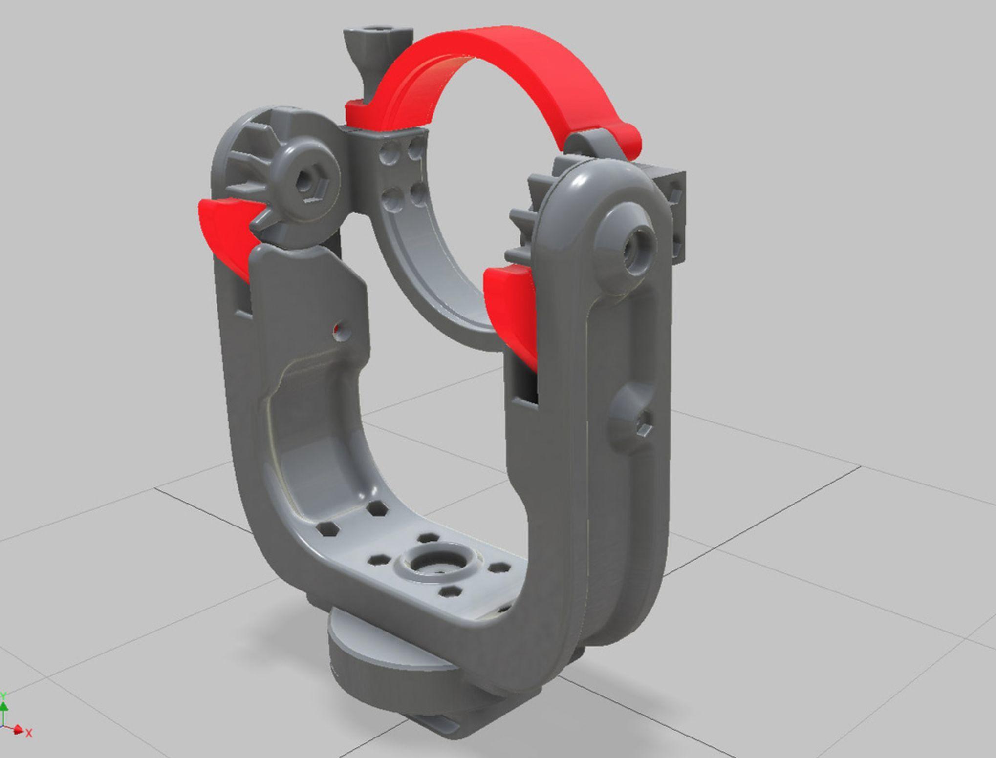 Rótula de anillo, en U, impresa en 3D — Comentarios e impresiones ...